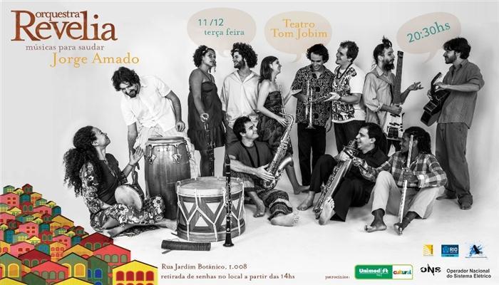 CD Orquestra Revelia – Musicas para saudar Jorge Amado